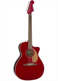 Fender Newporter Player Candy Apple Red WN
