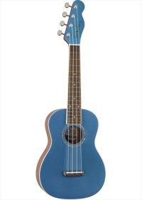 Fender Zuma Classic Concert Ukulele Lake Placid Blue
