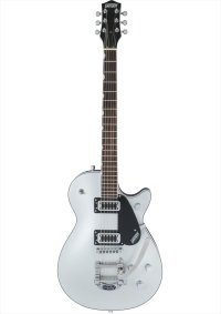 Gretsch G5230T Electromatic Jet FT Single-Cut with Bigsby, Black Walnut Fingerboard, Airline Silver